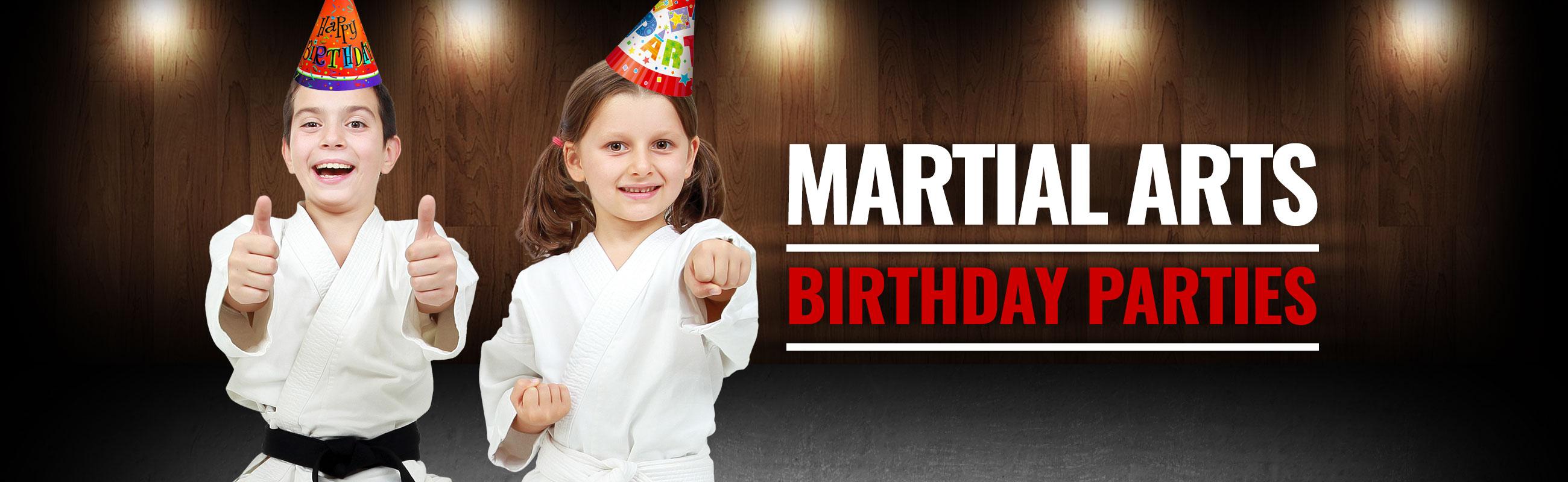 martial arts birthday parties
