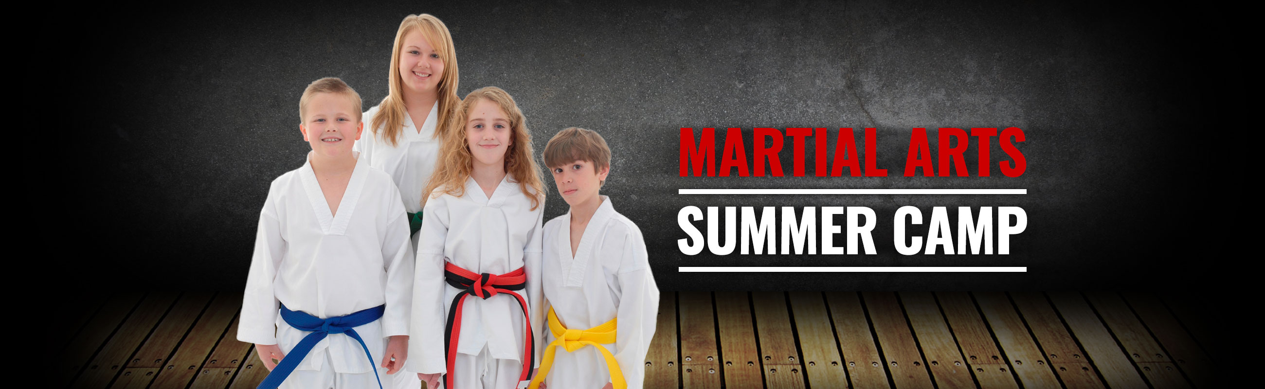 martial arts summer camp