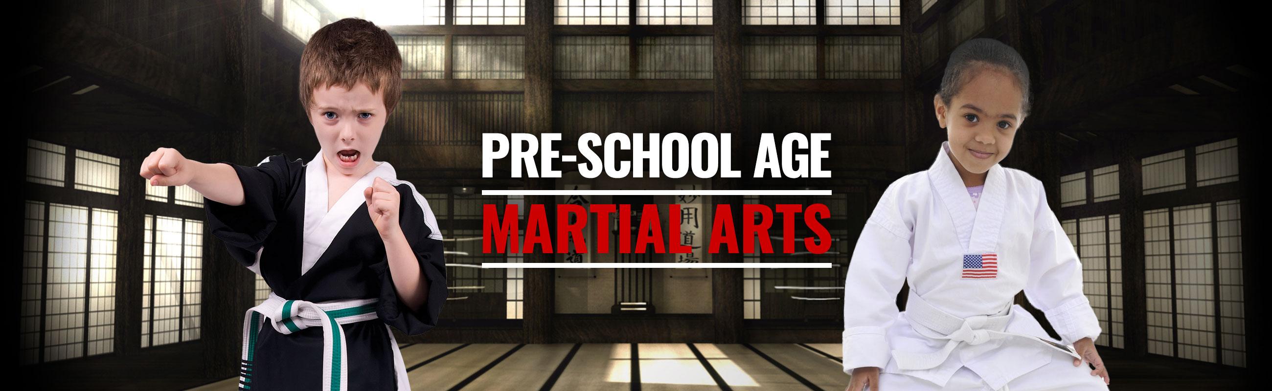 pre school age martial arts